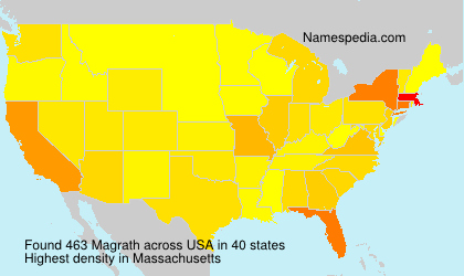 Surname Magrath in USA