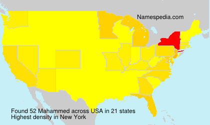 Surname Mahammed in USA