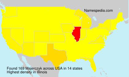 Surname Majerczyk in USA