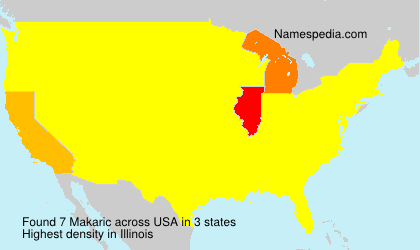 Surname Makaric in USA