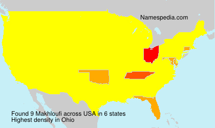 Surname Makhloufi in USA