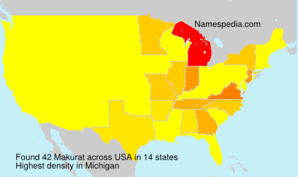 Surname Makurat in USA