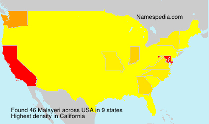 Malayeri - USA