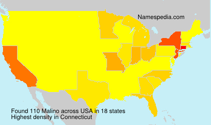 Surname Malino in USA