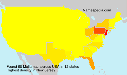 Surname Mallamaci in USA