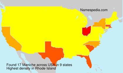 Surname Maniche in USA