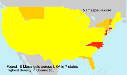 Surname Marangelo in USA