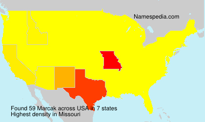 Surname Marcak in USA