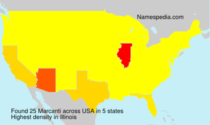 Surname Marcanti in USA