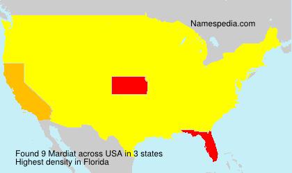 Mardiat - USA