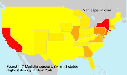 Surname Marfatia in USA