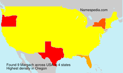 Surname Margach in USA