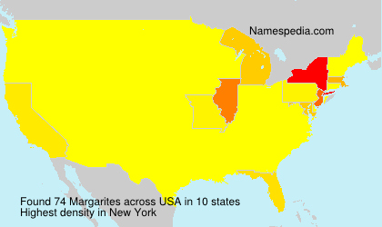Surname Margarites in USA