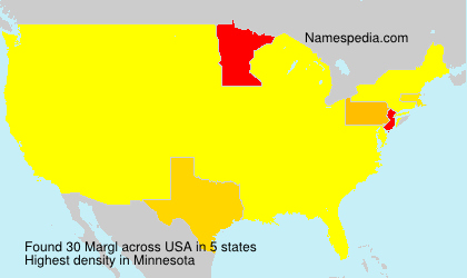 Surname Margl in USA