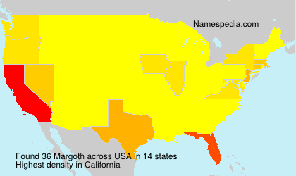 Surname Margoth in USA