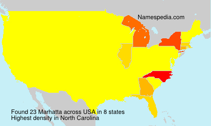 Surname Marhatta in USA