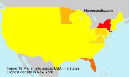 Familiennamen Marianiello - USA