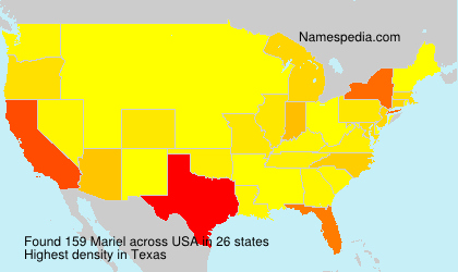 Surname Mariel in USA