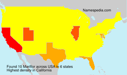 Surname Mariflor in USA