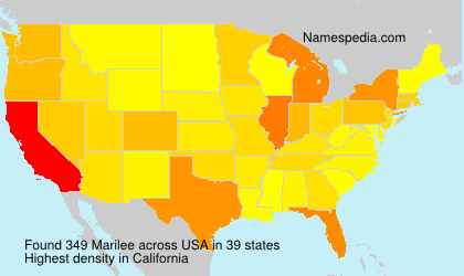 Surname Marilee in USA