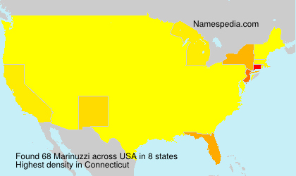 Surname Marinuzzi in USA