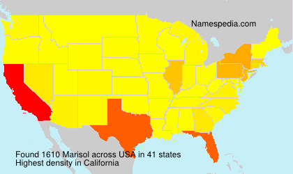 Surname Marisol in USA