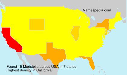 Surname Maristella in USA