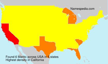 Surname Marito in USA