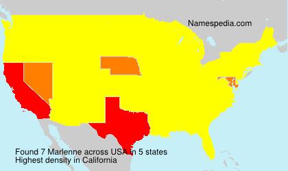 Surname Marlenne in USA