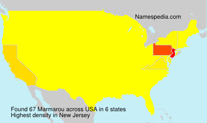 Surname Marmarou in USA