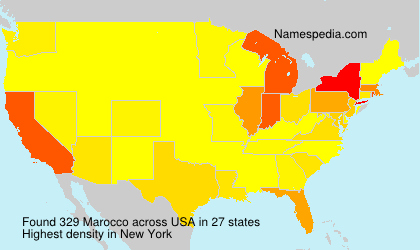 Marocco - USA