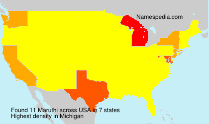 Surname Maruthi in USA