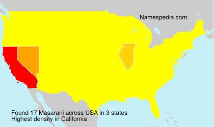 Surname Masarani in USA