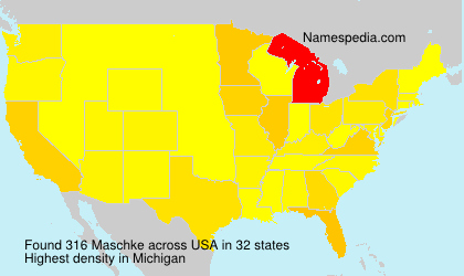 Surname Maschke in USA