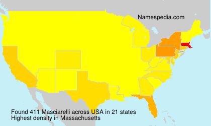 Surname Masciarelli in USA