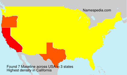 Surname Maseline in USA