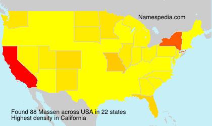 Massen - USA