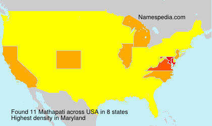 Surname Mathapati in USA