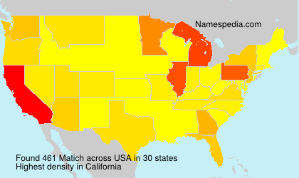 Surname Matich in USA