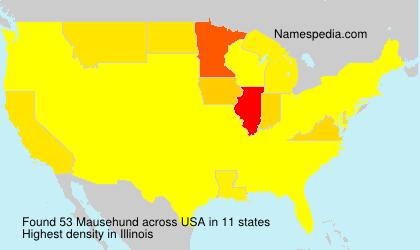 Surname Mausehund in USA