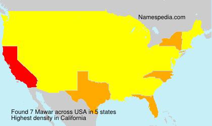 Mawar - USA