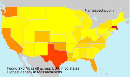 Surname Mcaskill in USA
