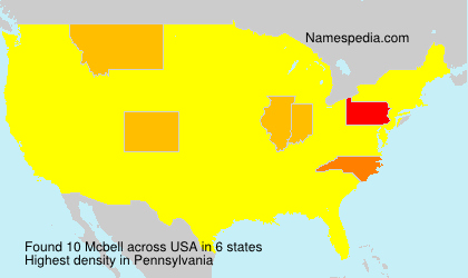 Surname Mcbell in USA