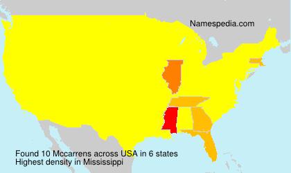 Mccarrens