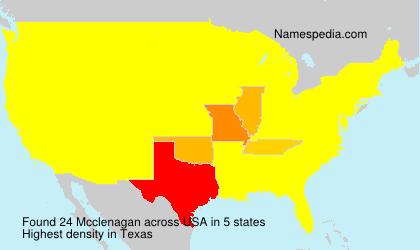Mcclenagan