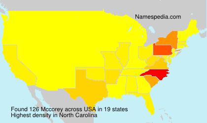 Mccorey