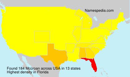 Mccroan