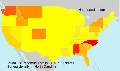Mccrorie