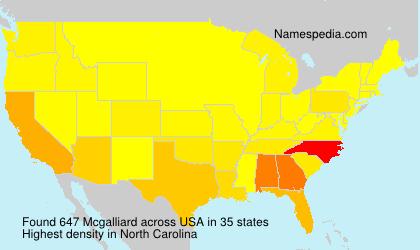Mcgalliard
