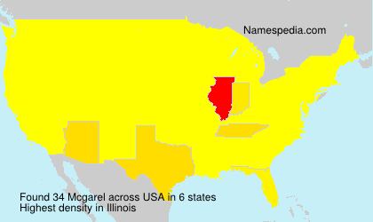 Surname Mcgarel in USA